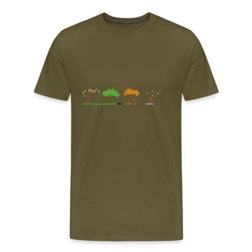 Tshirt 4 Jahreszeiten - Männer Premium T-Shirt