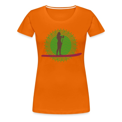 Helga 6 - Frauen Premium T-Shirt