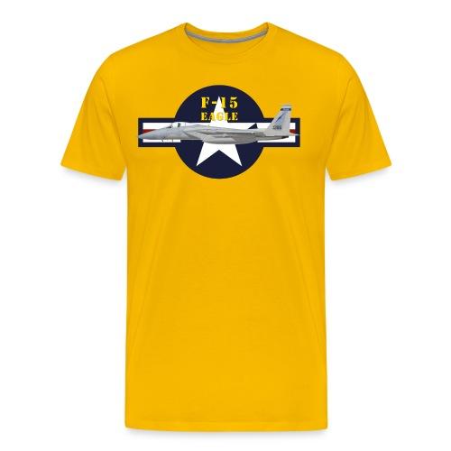 F-15 Eagle - T-shirt Premium Homme