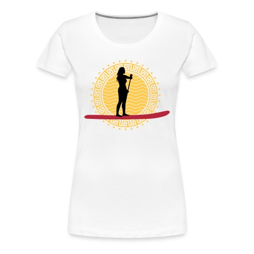 Helga 7 - Frauen Premium T-Shirt