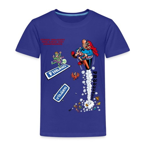 Kids' T-Shirt - 2018 World Fart Championships t-paita lapsille, vapaavalintainen väri - Lasten premium t-paita