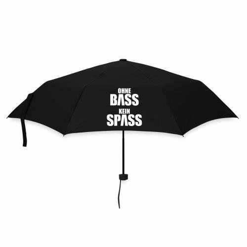 Ohne Bass Kein Spass - Regenschirm - Regenschirm (klein)