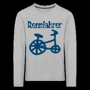 RENNFAHRER DREIRAD - Kinder Premium Langarmshirt