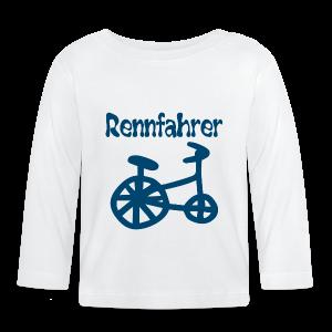 RENNFAHRER DREIRAD - Baby Langarmshirt