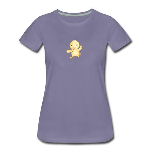 fröhliches Küken - Frauen Premium T-Shirt - Frauen Premium T-Shirt