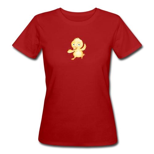 fröhliches Küken - Frauen Bio-T-Shirt  - Frauen Bio-T-Shirt