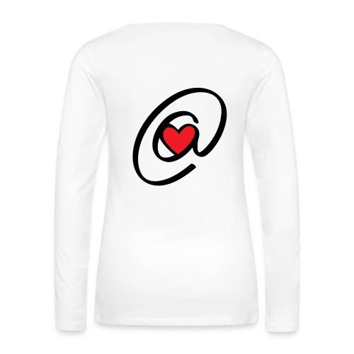 T-Shirt longues manches Arolove - T-shirt manches longues Premium Femme
