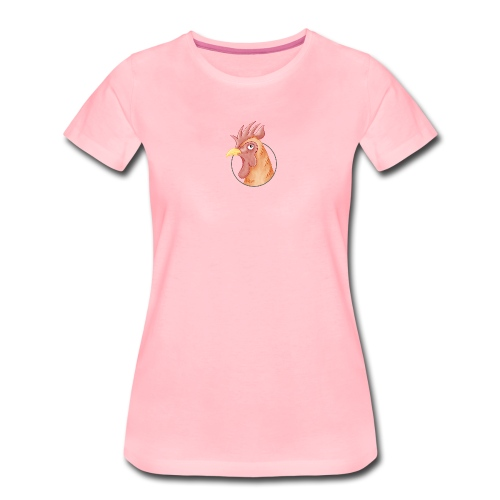stolzer Hahn - Frauen Premium T-Shirt  - Frauen Premium T-Shirt