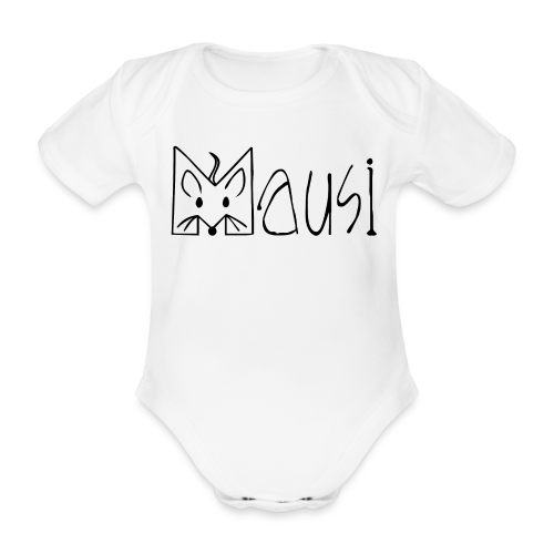 MAUSI MAUS - Baby Bio-Kurzarm-Body