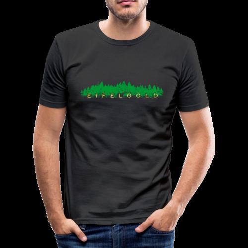 EIFELGOLD Eifel Slim Fit T-Shirt - Männer Slim Fit T-Shirt