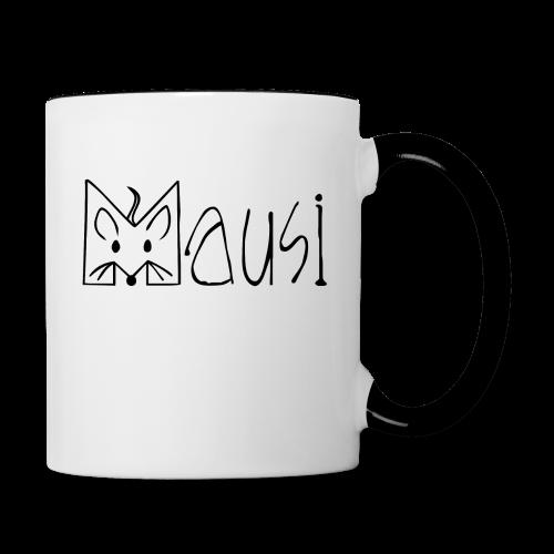 MAUSI MAUS - Tasse zweifarbig