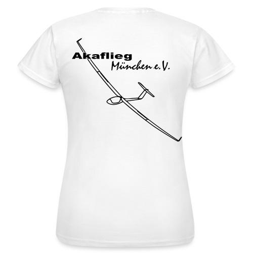 Akaflieg-Shirt Damen_weiß - Frauen T-Shirt