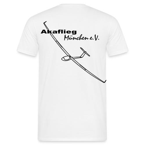 Akalfieg-Shirt Männer_weiß - Männer T-Shirt