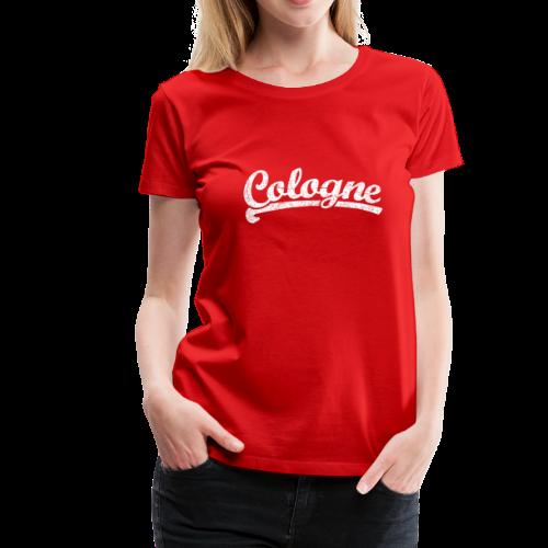 Cologne (Vintage Weiß) S-3XL Köln T-Shirt - Frauen Premium T-Shirt