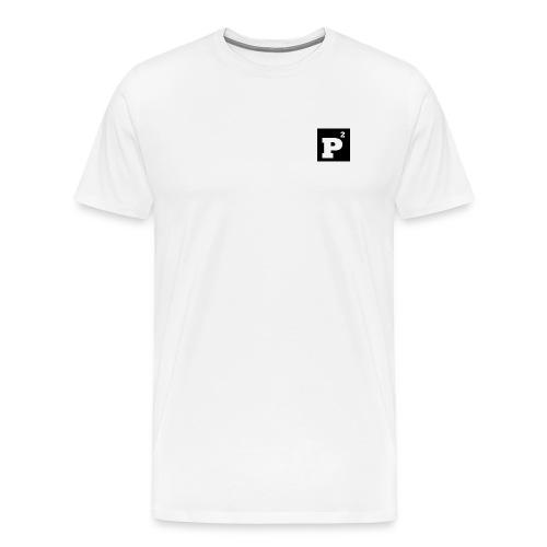 P-Quadrat small black man - Männer Premium T-Shirt
