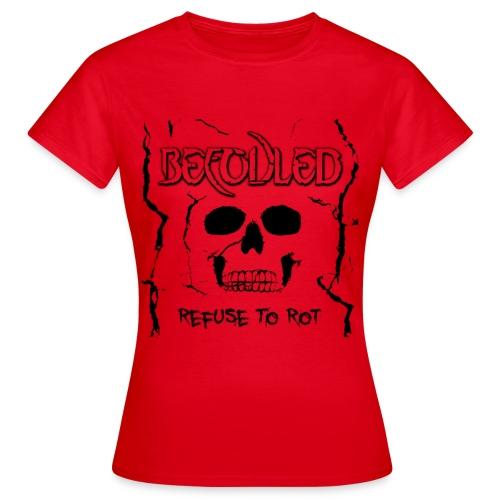 Befouled - Refuse to Rot - Woman - T-skjorte for kvinner