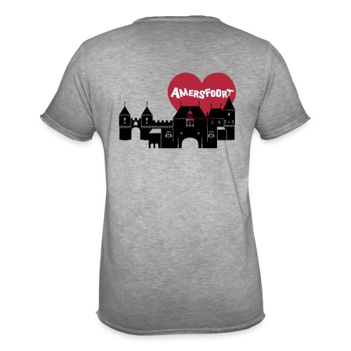 Hartenstad Amersfoort Vintage T-Shirt - Mannen Vintage T-shirt