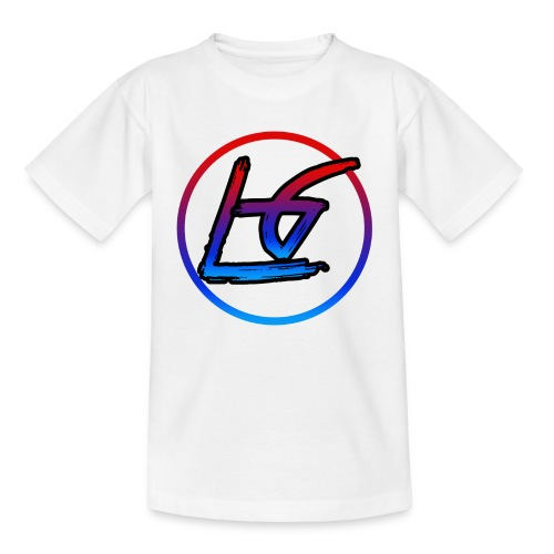LQ Kids White LG Logo T-Shirt - Kids' T-Shirt
