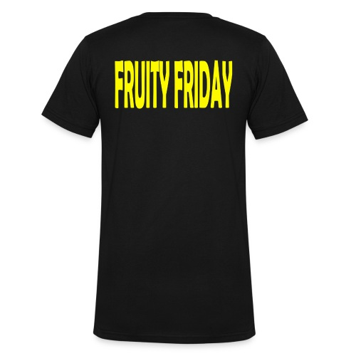 Fruity Friday - Men's Organic V-Neck T-Shirt by Stanley & Stella