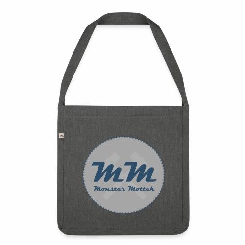 Monster Mottek Logo Tasche - Schultertasche aus Recycling-Material