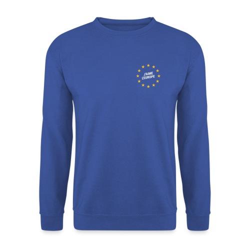 Pullover J'aime l'europe - Männer Pullover