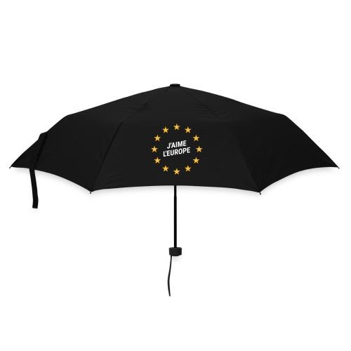 Regenschrim J'aime l'europe - Regenschirm (klein)