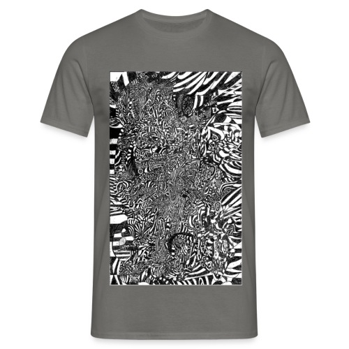 Interstellar Dream Warrior - Men's T-Shirt