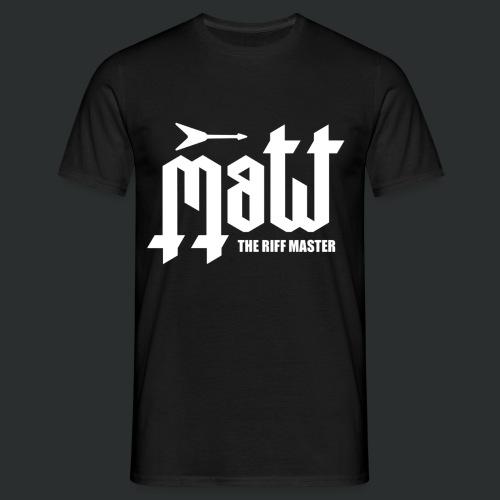 Matt The Riff Master Logo Mens T-shirt - Men's T-Shirt