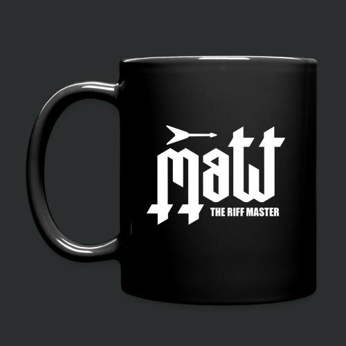 Matt The Riff Master Logo Mug - Full Colour Mug