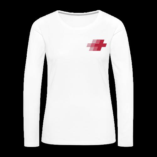 LIFESAVER   Damen   Pullover - Frauen Premium Langarmshirt
