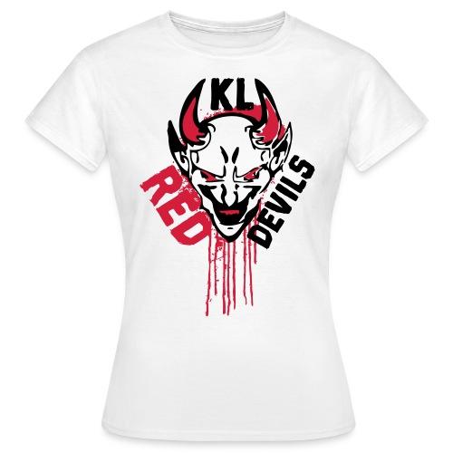 Red Devils KL 666 Weiß Frauen T-Shirt - Frauen T-Shirt