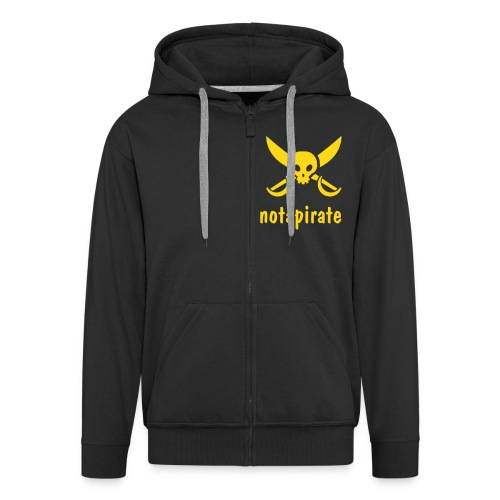 notapirate - Men's Premium Hooded Jacket