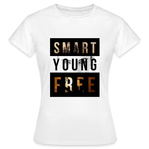 SMART YOUNG FREE - Frauen T-Shirt