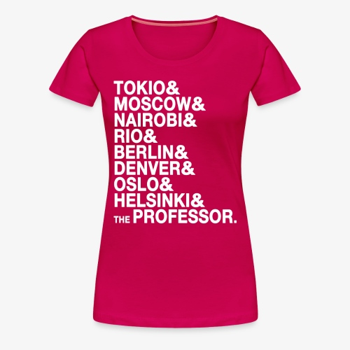 Casa di Carta - Donna - Maglietta Premium da donna