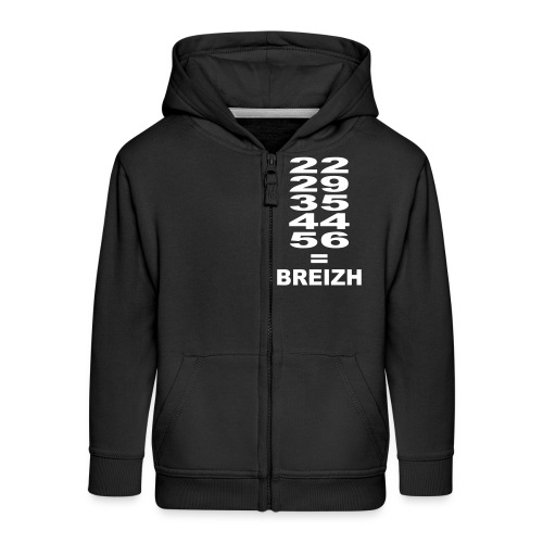 Breizh - Bretagne - Veste à capuche Premium Enfant
