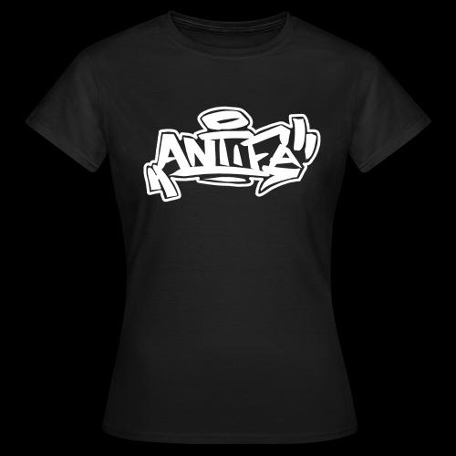 Antifa Frau - Frauen T-Shirt