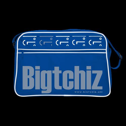 Big Baggy Tchiz SilverMetallic - Sac Retro