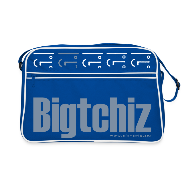 Big Baggy Tchiz SilverMetallic