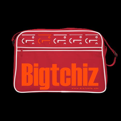 Big Baggy Tchiz NeonOrange - Sac Retro