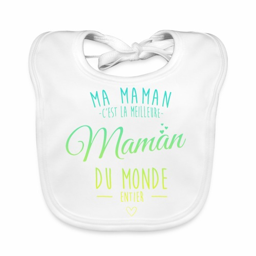Bavoir Maman - Bavoir bio Bébé
