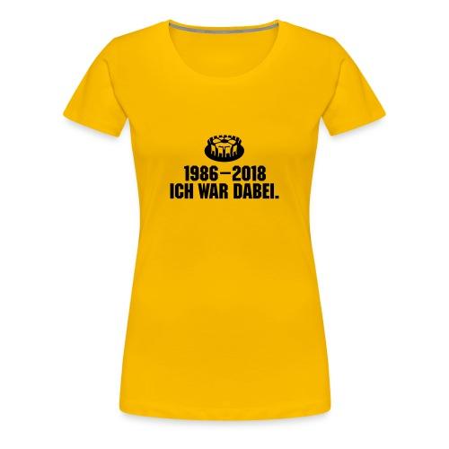 1986-2018 weiblich - Frauen Premium T-Shirt