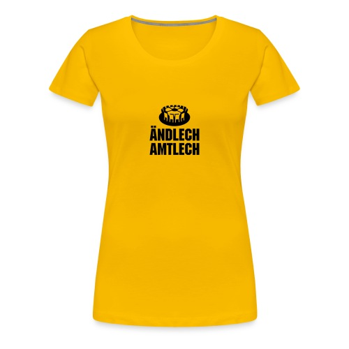 Amtlich weiblich - Frauen Premium T-Shirt
