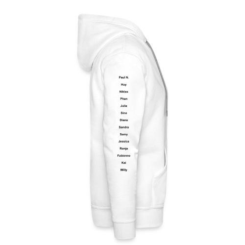Pullover in erstmal blöd(ich probier es zu fixen :( ) - Bluza męska Premium z kapturem