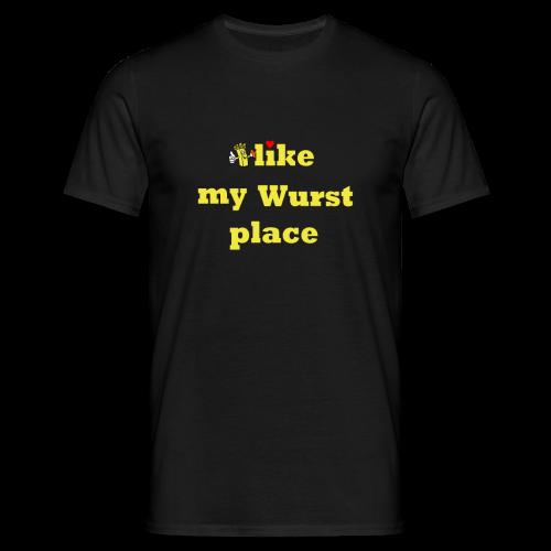 Wurstplace shirt - Männer T-Shirt
