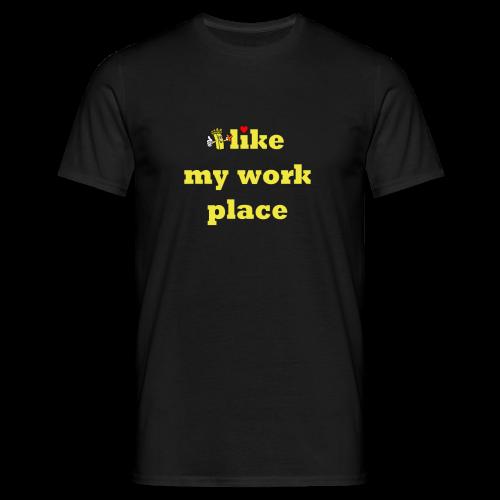 like shirt no 6 fritte kleiner - Männer T-Shirt