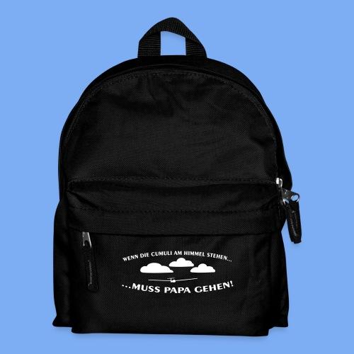 Segelflieger Wolkenstraße Baby Flugplatzkind Geschenk - Kids' Backpack