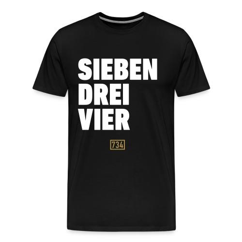 Sieben Drei Vier Pulli - Männer Premium T-Shirt