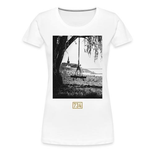 Shirt Skyline - Frauen Premium T-Shirt