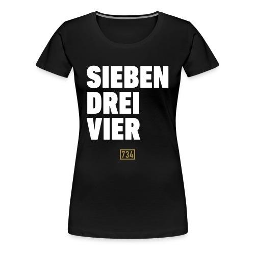Sieben Drei Vier Pulli - Frauen Premium T-Shirt