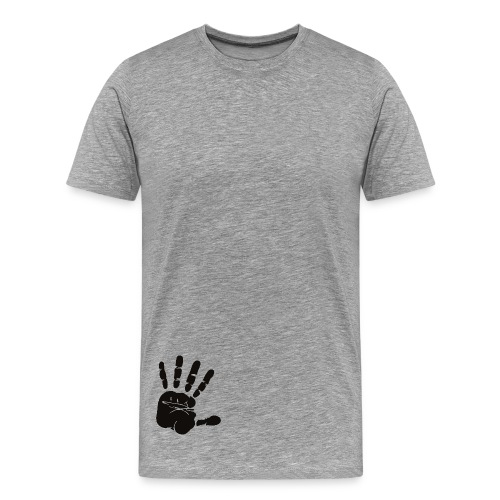 Handabdruck, Handpalm - Männer Premium T-Shirt